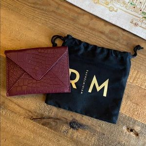 Rachel Miriam Embossed Leather Card Case